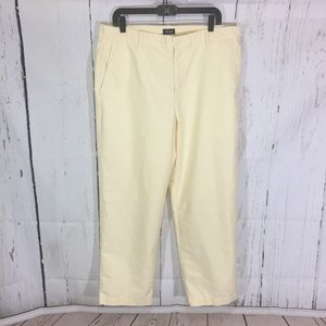 Izod men's yellow dress slacks size 38X30